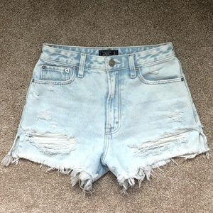 Abercrombie and Fitch Annie High Rise Shorts